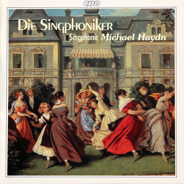 Cover_Singphoniker_Singphonic Michael Haydn